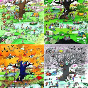 Puzzel 4 Seasons 2000 Heye 29873