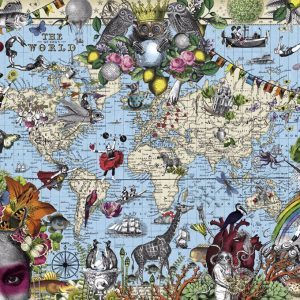 Puzzel Quirky World 2000 Heye 29913 NEW